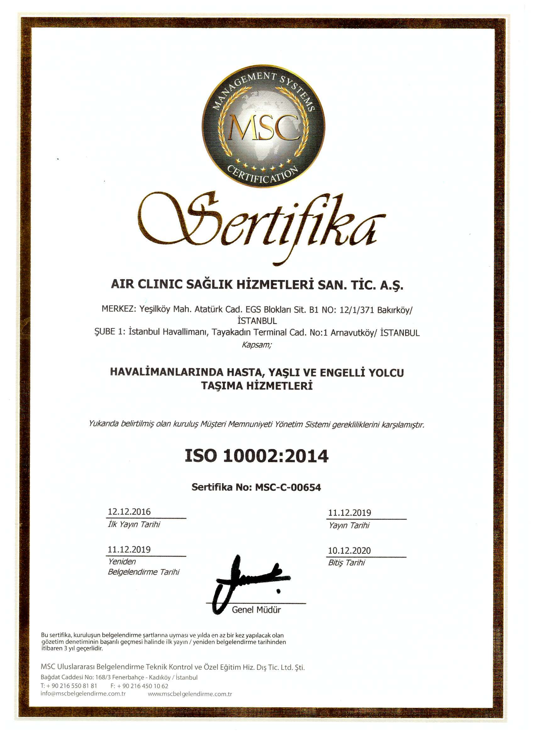 air-clinic-iso-100022014 Certificates